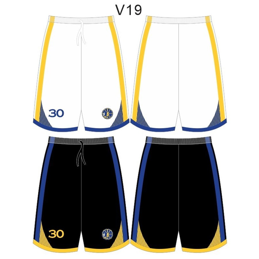 Warriors Basketball Club 2019 Reversible Shorts