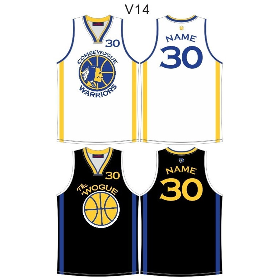 Warriors Basketball Club 2019 Reversible Jersey